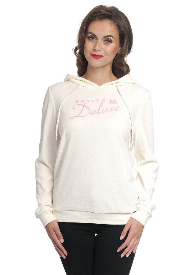 CLASSIC FLUFFY - Hoodie - creme
