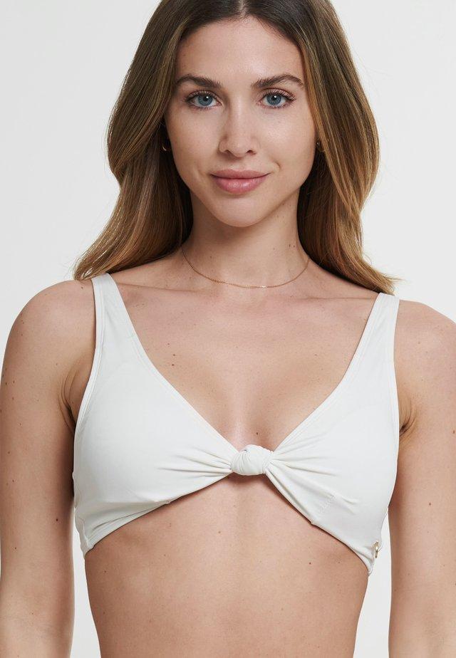 ALBA - Bikini pezzo sopra - weiß
