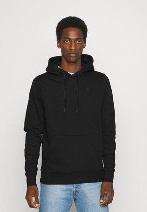 LARS HOOD - Sweater - black