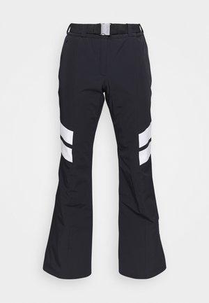 LADIES PANTS - Spodnie narciarskie - black/white