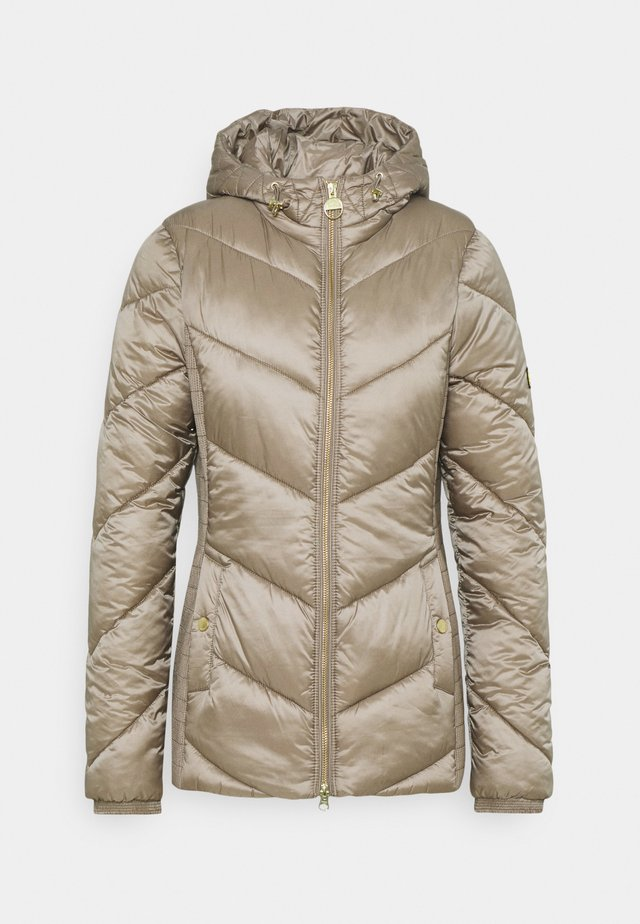 MILLER QUILT - Winter jacket - soft gold