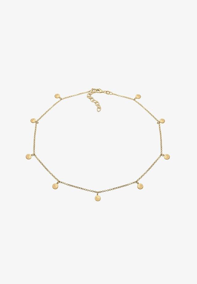 GEO KREIS BASIC MATT COIN - Collier - gold-coloured
