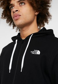 The North Face - OPEN GATE - Zip-up hoodie - black/white - 4