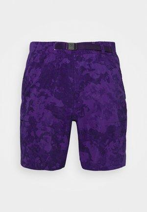 SLAM SHORT - Sportovní kraťasy - court purple/black/white