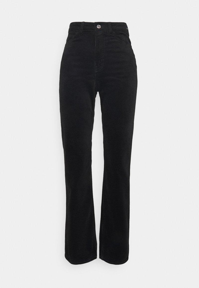 Weekday - ROWE TROUSER - Trousers - black