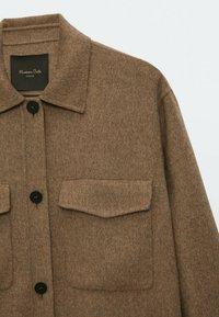 Massimo Dutti - Short coat - brown - 4