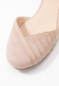 Anna Field - LEATHER ANKLE STRAP BALLET PUMPS - Ballerina med reim - beige - 2