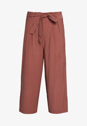 ONLAMINTA ARIS LIFE CULOT - Trousers - apple butter
