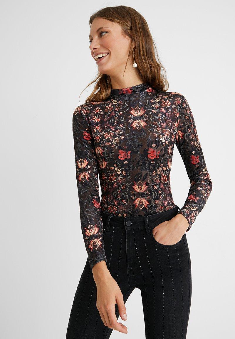Desigual - VERSALLES - Long sleeved top - black