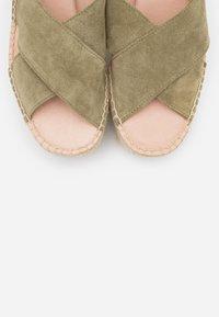 Zign - High Heel Sandalette - khaki - 5
