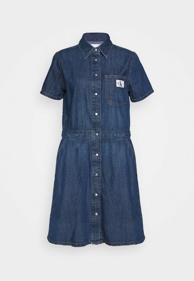 MODERN DRESS - Denim dress - light blue