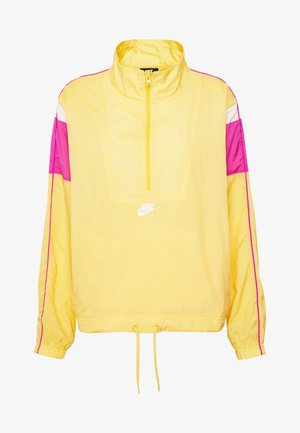 LIGHTWEIGHT JACKET - Summer jacket - topaz gold/fire pink/white