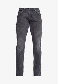 Esprit - Straight leg jeans - black medium wash - 3