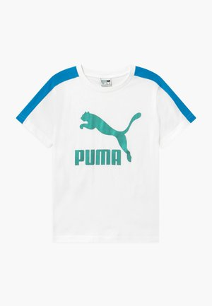 PUMA X ZALANDO TEE - T-Shirt print - white