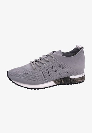 Trainers - knitted lt grey