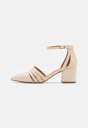 BIADIVIVED FASHION WIDE FIT - Classic heels - creme