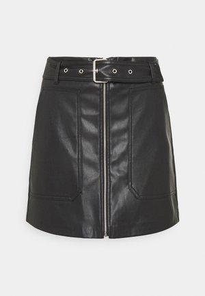 JDYALASKA SKIRT - Mini skirt - black