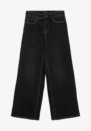 Jeans Straight Leg - black denim