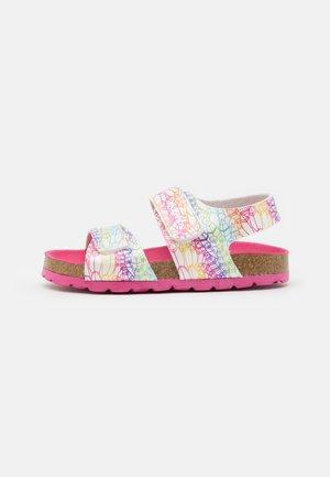 SUMMERKRO - Sandals - blanc/multicolor