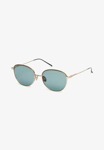 Sunglasses - green / gold