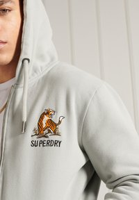 Superdry - Zip-up hoodie - grey - 1