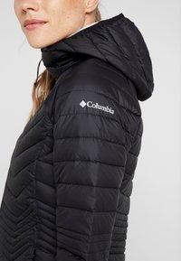 Columbia - POWDER LITE MID JACKET - Zimní kabát - black - 7