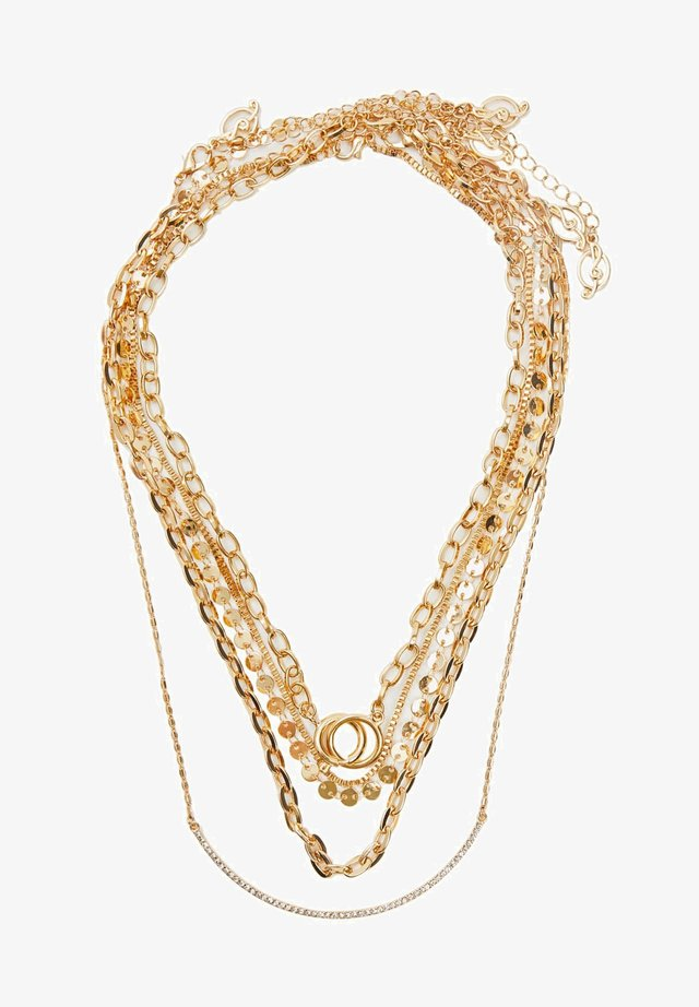 5 PACK - Collana - gold