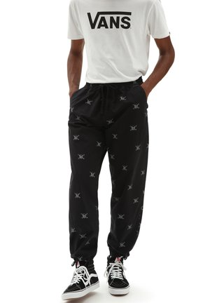 MN EMBARCADERO PANT III - Tracksuit bottoms - black new varsity