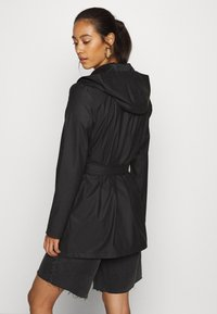 JDY - JDYSHELBY BELT RAINCOAT - Waterproof jacket - black - 2