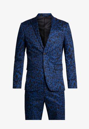 LEO SUIT - Oblek - blue