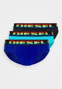 Diesel - UMBR-ANDRETHREEPACK UNDERPANTS 3 PACK - Briefs - blue/black/blue - 4