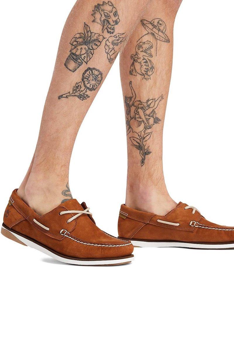Timberland - Boat shoes - garnet
