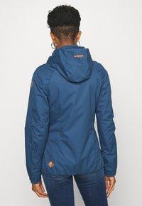 Ragwear - DIZZIE - Summer jacket - denim blue - 2
