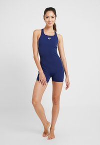Arena - FINDING - Swimsuit - navy/white - 1