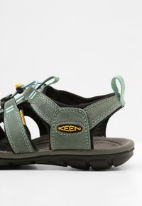 Keen - CLEARWATER CNX  - Walking sandals - mineral blue/yellow - 5