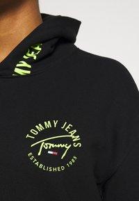 Tommy Jeans - TAPE HOODIE - Sweatshirt - black - 3