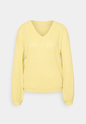 Jumper - soft yellow
