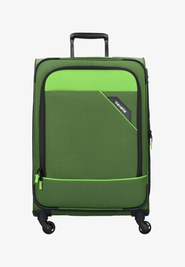DERBY  - Wheeled suitcase - green