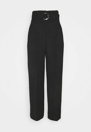 HILOVI - Trousers - black