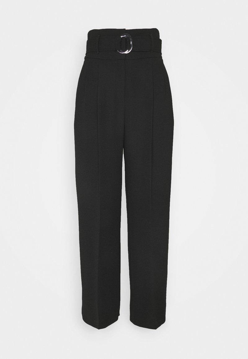 HUGO - HILOVI - Trousers - black