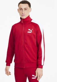 Puma - PUMA ICONIC T7 MEN'S TRACK JACKET MALE - Träningsjacka - high risk red - 1
