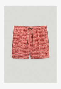 Massimo Dutti - Swimming trunks - red - 3