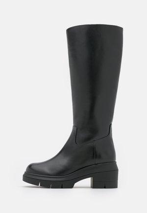 NORAH TALL BOOT - Platform boots - black