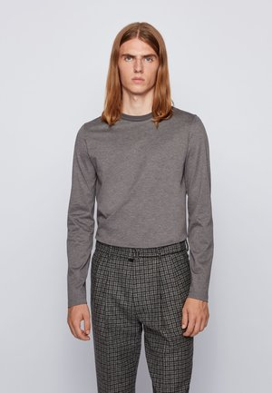 TENISON - Long sleeved top - grey