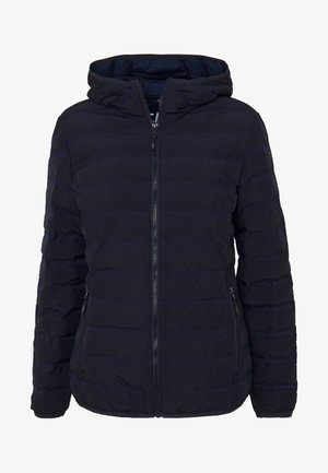 WOMAN JACKET FIX HOOD - Outdoor jacket - dark blue