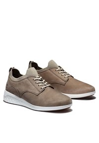 Timberland - BRADSTREET ULTRA OXFORD - Casual lace-ups - taupe gray - 3