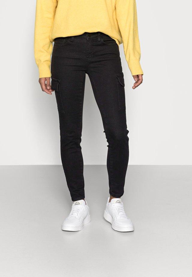 NMLUCY UTILITY PANTS - Pantaloni - black