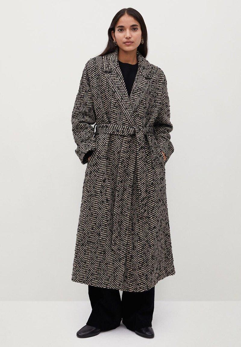 Mango - FOX - Classic coat - schwarz