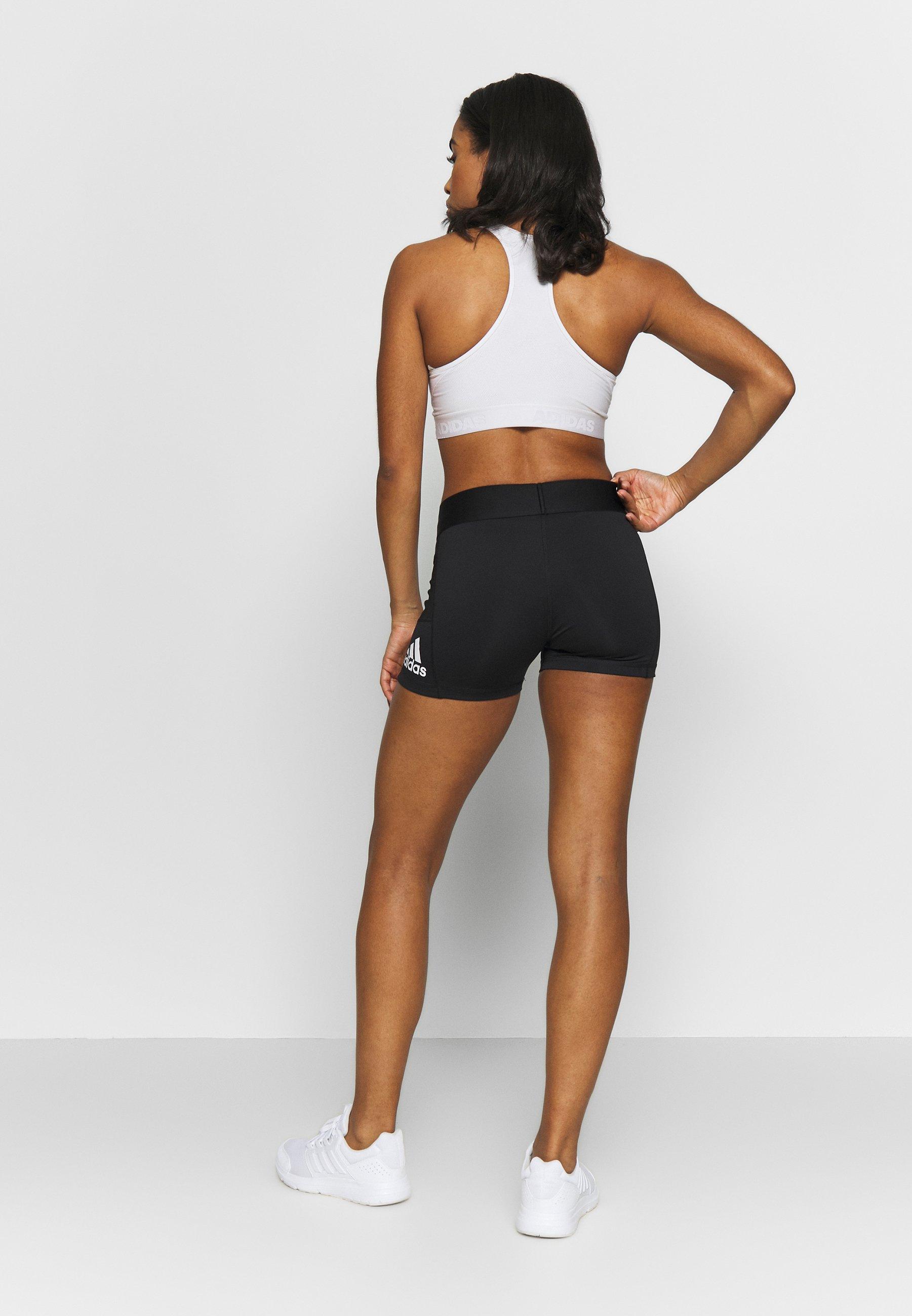 adidas Performance ASK SHORT - Leggings - black/white XRuAi