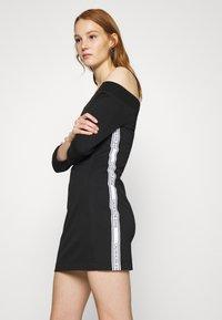 Calvin Klein Jeans - OFF THE SHOULDER MILANO DRESS - Shift dress - black - 3